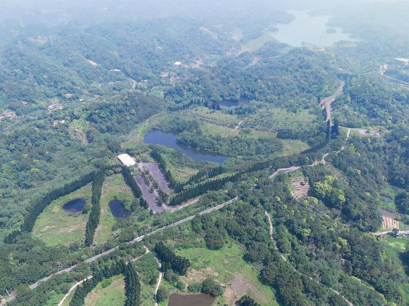 新竹北埔土地_四海二期空拍(東北側為寶二水庫)